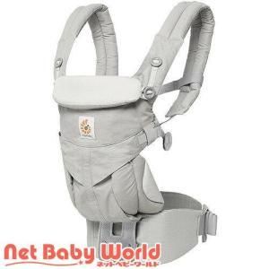 ベビーキャリア OMNI360 パールグレー+おくるみ+サッキングパッド オフホワイトヘム ( 1セット )/ エルゴベビー ( 抱っこ紐 スリング ) netbaby