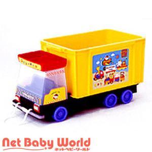 365日あすつく★代引・送料無料★ 車シリーズ おもちゃ箱 (ダンプ) 錦化成 Nishiki Kasei おもちゃ 玩具 収納|netbaby