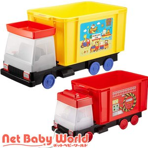 365日あすつく★代引・送料無料★ 車シリーズ おもちゃ箱 錦化成 Nishiki Kasei おもちゃ 玩具 収納|netbaby