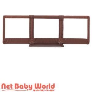 おくだけとおせんぼ L ブラウン ( 1個 )/ 日本育児 ( ベビーゲート セーフティグッズ )|netbaby