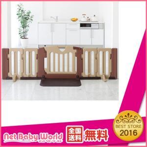 おくだけドアーズ L 【設置幅84〜208cm】 日本育児 Nihonikuji ベビーゲート 置き型タイプゲート ベビーゲイト|netbaby