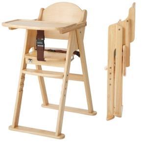 カトージ プレミアム折りたたみ木製ベビーチェア 123 ナチュラル ( 1台 )/ カトージ(KATOJI) ( ベビーチェア お食事グッズ 家具 ハイチェア )|netbaby|02