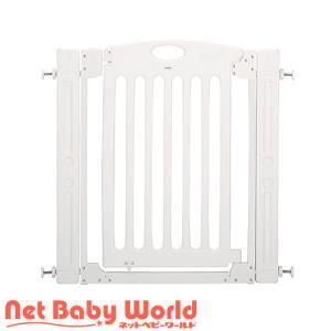 ★送料無料★ 階段上で使えるゲート ホワイト カトージ Katoji ベビーゲート 階段上用ゲート|netbaby