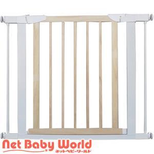 スタイリッシュゲート Beni Wood Wide 取付幅75cm〜95cm ナチュラル ベニ ウッドワイド JTC|netbaby