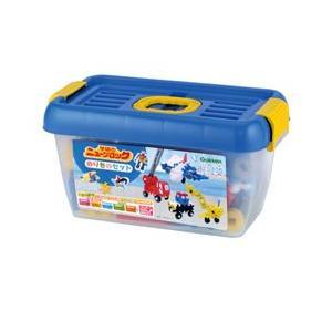 ニューブロック のりものセット 83157  学研ステイフル 学研 ブロック 知育玩具 netbaby 02