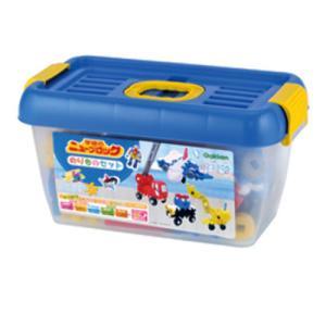 ニューブロック のりものセット 83157  学研ステイフル 学研 ブロック 知育玩具 netbaby 03