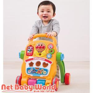 アンパンマン よくばりすくすくウォーカー ( 1セット )/ アガツマ ( おもちゃ 遊具 手押し車カタカタ )|netbaby