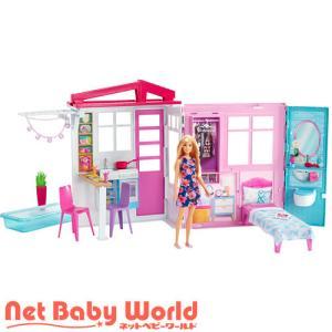 バービー かわいいピンクのプールハウス FXG55/ブランド:フィッシャープライス/( おもちゃ 遊...