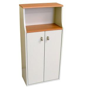 ヴィット1 トイレ収納棚 掃除用具や備品入れ ラックの写真