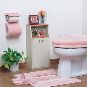 ヴィット1 トイレ収納棚 掃除用具や備品入れ ラック netdedream 02