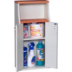ヴィット1 トイレ収納棚 掃除用具や備品入れ ラック netdedream 03