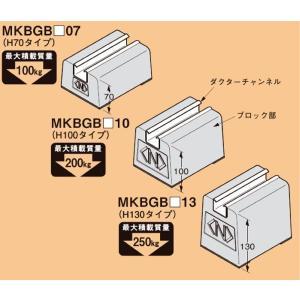 ■説明:各種の露出配管、設備支持に便利な屋上用配管ブロックです。 ■特長:接着剤を使用してブロック底...