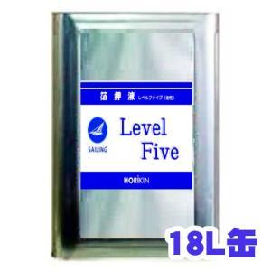 セーリング箔押液LevelFive(レベルファイブ) 18L 油性金属箔接着剤【堀金箔粉】|netdesimamoto