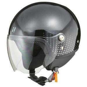 リード工業 PALIO(パリオ) ジェットヘルメット ブラック レディースフリー|neteceterashop
