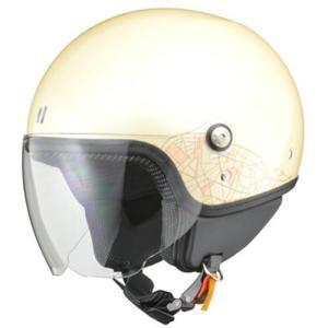 リード工業 PALIO(パリオ) ジェットヘルメット アイボリー レディースフリー|neteceterashop