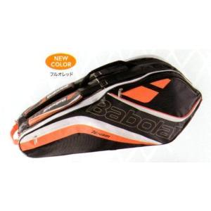 Babolat(バボラ)RACKET HOLDER X6 ラケットバッグ(テニスラケット6本収納可)フルオレッド BB751153|netintm