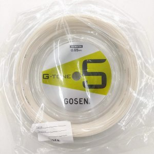 GOSEN/ゴーセン G-TONE 5(ジー・トーン ファイブ) 100mロール BS0651 送料無料! バドミントンストリング  |netintm