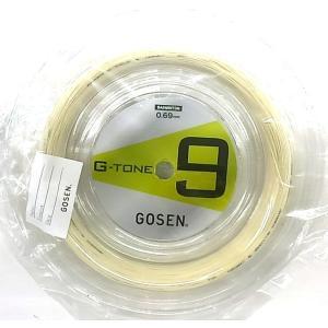 GOSEN/ゴーセン G-TONE 9(ジー・トーン ナイン) 100mロール BS0691 送料無料|netintm