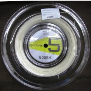 ゴーセン G-TONE 5(ジー・トーン ファイブ) 200mロール BS0652 送料無料!/GOSEN バドミントン ストリング  |netintm