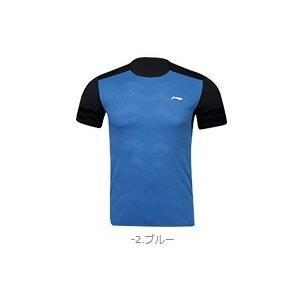 LI-NING/リーニン AAYN317-2 ブルー UNI ゲームシャツ 日本バドミントン協会公認取得予定2019年度〜|netintm