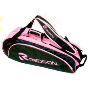 REDSON/レッドソン ラケットバッグ RK-856(9019)ブラック/ピンク|netintm