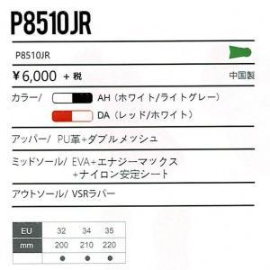 VICTOR P8510JR DA ビクター バドミントン ジュニアシューズ レッド/ホワイト ローカット 20.5〜22cm|netintm|04