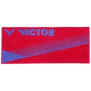 VICTOR TW202 Q ビクター スポーツタオル ローズレッド 綿100% 100cm×40cm 中国製 netintm