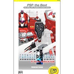 PSP/ARMORED CORE フォーミュラフロント インターナショナル PSP the Best netoff2