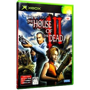 THE HOUSE OF THE DEAD3 XBox ソフト Q74-00001 /  ゲーム