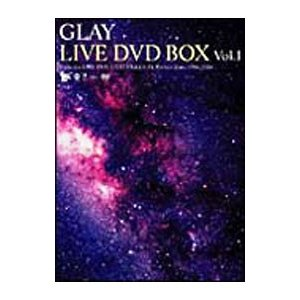 DVD/GLAY LIVE DVD−BOX vol.1 includes LIVE DVD 3 Title&GLAY Perfect Data 1994−2004|netoff