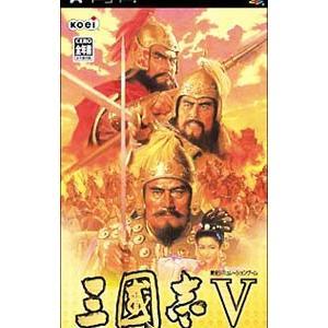三国志5 PSP ソフト ULJM-05016 /  ゲーム