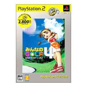 PS2/みんなのGOLF4 PS2 the Best