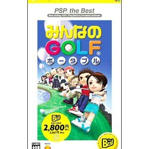 PSP/みんなのGOLF ポータブル PSP the Best|netoff