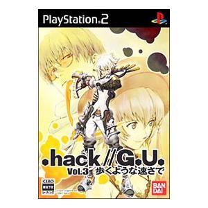 PS2/.hack//G.U. Vol.3 歩くような速さで|netoff