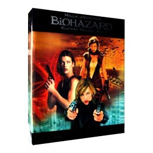 Blu-ray/バイオハザード トリロジーBOX|netoff