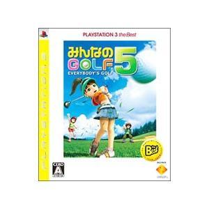 PS3/みんなのGOLF 5 PlayStation3 the Best|netoff