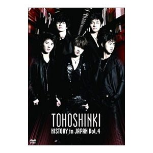 DVD/東方神起 HISTORY in JAPAN Vol.4|netoff