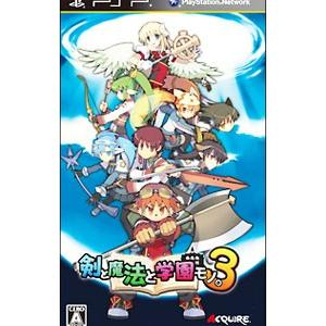 PSP/剣と魔法と学園モノ。3|netoff