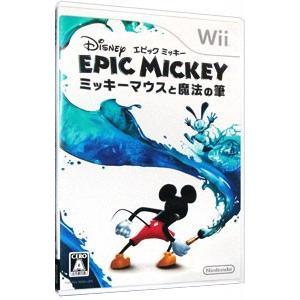 Wii/ディズニー エピックミッキー 〜ミッキーマウスと魔法の筆〜|netoff