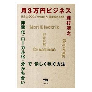 月3万円ビジネス/藤村靖之の関連商品1