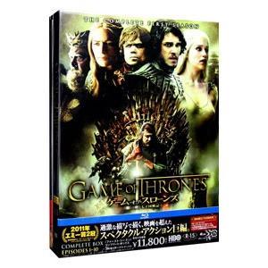 Blu-ray/ゲーム・オブ・スローンズ 第一章:七王国戦記 ブルーレイ コンプリート・ボックス