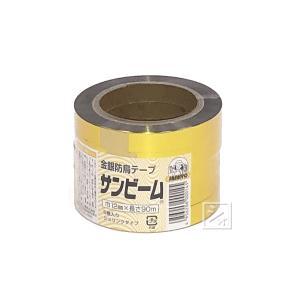 防鳥金銀テープ サンビーム 5巻入 (巾12mm×長さ90m) (防鳥テープ) netonya