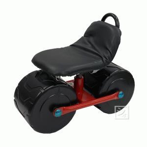 スチールハウスカー2輪 TC-4500A (移動用作業椅子)|netonya