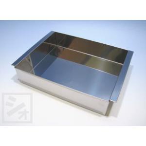 ステンレス 玉子豆腐器 (特大)  (210×175×H50mm) netonya