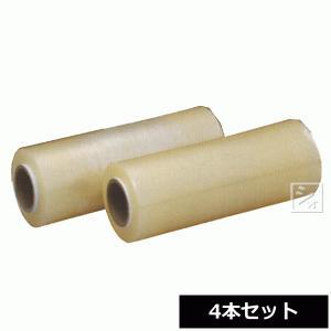 業務用ストレッチフィルム スーパーラップ H-400 (4本セット) オカモト (巾400mm×500m) ハンド用|netonya