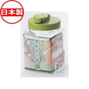 液体密封びん F角型 1.1L (果実酒瓶 果実酒ビン)