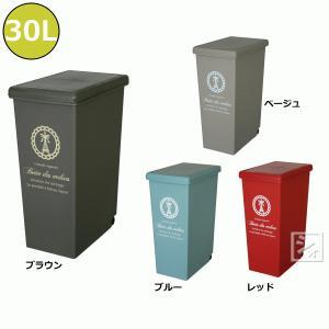 ゴミ箱 ダストボックス スライドペール 30L|netonya