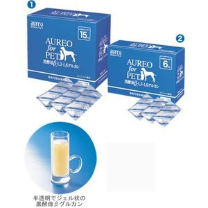 AUREO(アウレオ)黒酵母βグルカン6ml|netpetshal