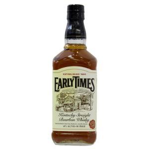 古酒 ヴィンテージ ウイスキー バーボン EARLY TIMES / アーリータイムズ 700ml ...
