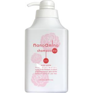ニューウェイ ナノアミノ シャンプー RM-RO ローズシャボン 髪に潤い感や柔軟性を与えるコラーゲ...